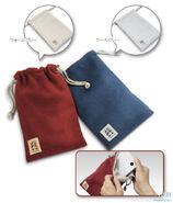 Reversible pouches