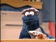 Cookie Monster baking cookies - 4