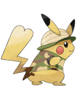 Pokémon Let's Go, Pikachu! and Let's Go, Eevee! - Character Artwork - Pikachu 04