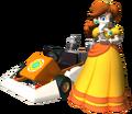 Daisy in Mario Kart DS