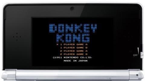 ドンキーコング プレイ映像 3DS
