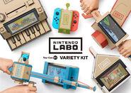 Nintendo Labo - Illustration - Variety Kit 01