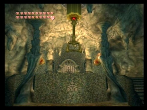 Lakebed Temple