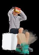 Nintendo Labo - VR Kit - Artwork - Pedal (Movement)