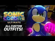 Sonic Colors Ultimate - All Customization (Gloves, Shoes, Boost, Aura, and Player Icons)- -4K-