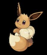 Pokémon Let's Go, Pikachu! and Let's Go, Eevee! - Character Artwork - Eevee 01