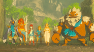 Link Zelda and The Champions