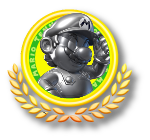 Metal Mario Tennis Icon