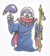 Eggplant Wizard Sticker