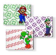Marioluigi greeting card set big 1