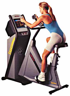 Life Fitness Exertainment System