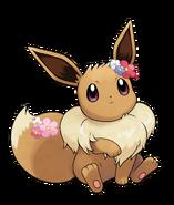 Pokémon Let's Go, Pikachu! and Let's Go, Eevee! - Character Artwork - Eevee 05