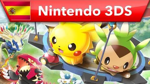 Pokémon Rumble World - Tráiler de lanzamiento (Nintendo 3DS)