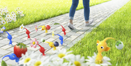 Pikmin Mobile Application Promotional Image