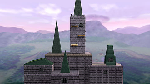 Hyrule Castle (Super Smash Bros.)