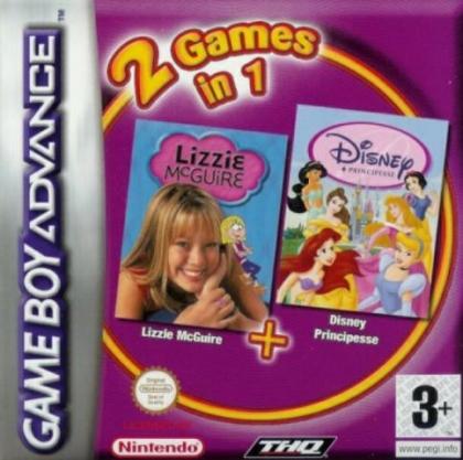 2 Games in 1: Lizzie McGuire + Disney Princess