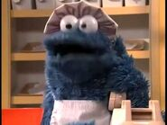 Cookie Monster baking cookies - 2