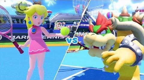 Mario Tennis Ultra Smash Walkthrough Part 4 - Knockout Challenge (Unlocking Star Peach)