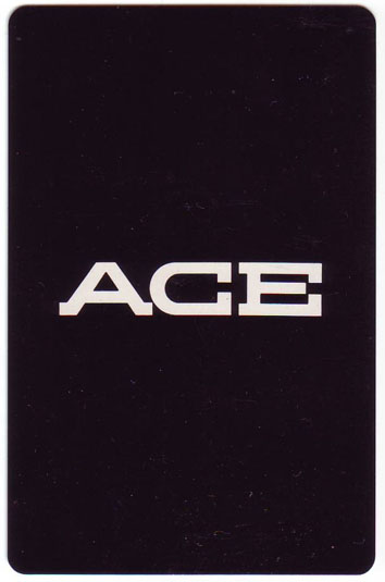 Ace Men Wear playing cards