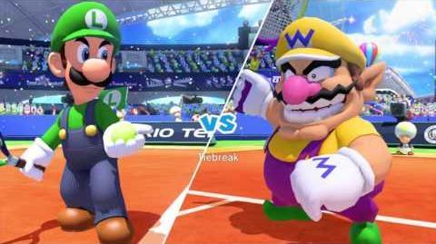 Mario Tennis Ultra Smash Walkthrough Part 2 - Knockout Challenge (Unlocking Star Luigi)