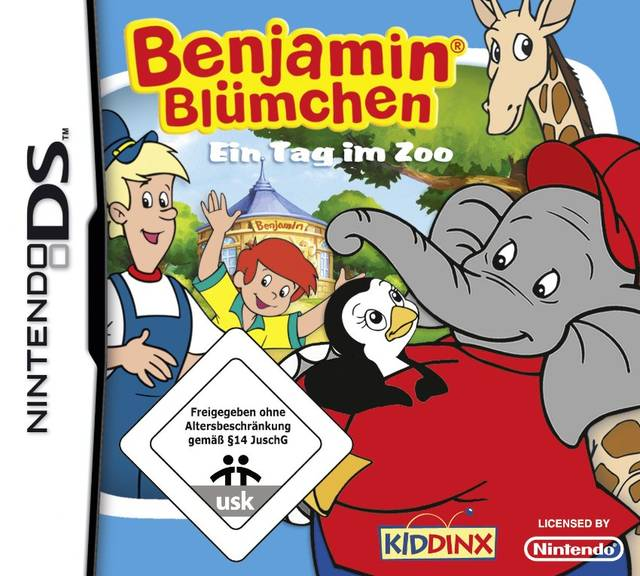 Benjamin the Elephant: A Day at the Zoo