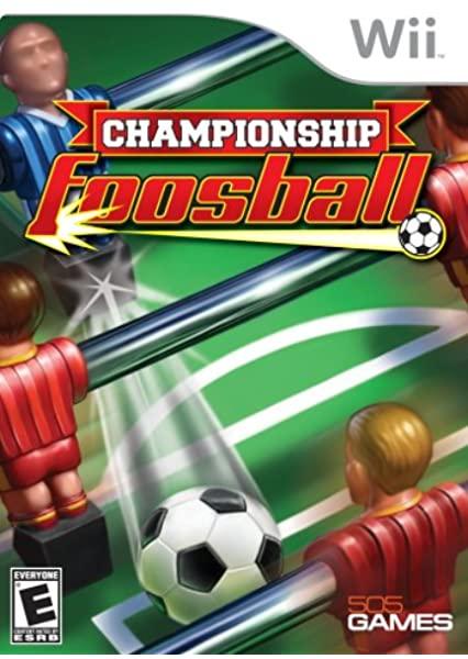 Chamionship Foosball