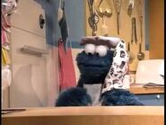 Cookie Monster baking cookies - 3