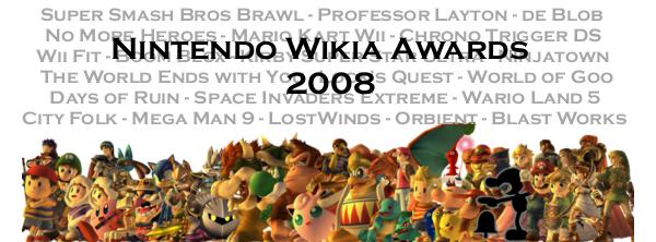 Nintendo Wikia Awards 2008