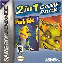 2 in 1: Dreamworks' Shark Tale + Shrek 2