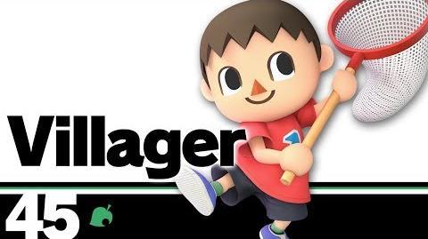45- Villager – Super Smash Bros. Ultimate
