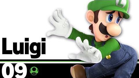 09- Luigi – Super Smash Bros. Ultimate