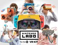 Nintendo Labo - VR Kit - Artwork 01