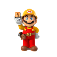 Super Mario Maker 2 - Mario artwork