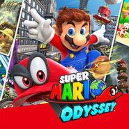 Release Icon - Super Mario Odyssey