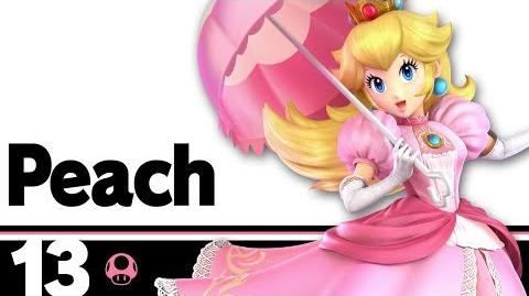 13- Peach – Super Smash Bros. Ultimate