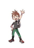 Pokémon Let's Go, Pikachu! and Let's Go, Eevee! - Character Artwork - Rival