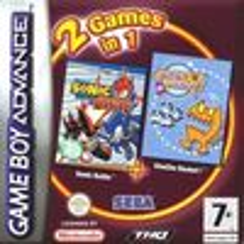 2 Games in 1: Sonic Battle + ChuChu Rocket!