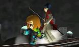 SSB4-3DS - Nikki and Takamaru
