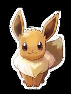 Pokémon Let's Go, Pikachu! and Let's Go, Eevee! - Character Artwork - Eevee 03