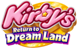 Kirby's Return to Dream Land logo.png