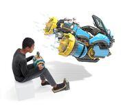 Nintendo Labo - Vehicle Kit - Artwork 08