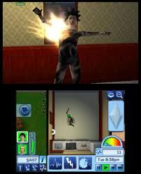 3DS Sims (electrocution)
