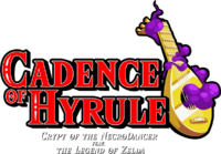 Cadence of Hyrule Crypt of the NecroDancer feat. The Legend of Zelda logo.png