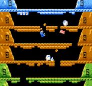 Gameplay - Ice Climbers