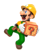Super Mario Maker 2 - Mario & Luigi artwork 2 - Luigi
