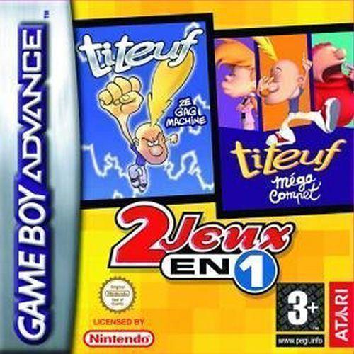 2 Jeux En 1: Titeuf: Ze Gag Machine / Titeuf Mega Compet