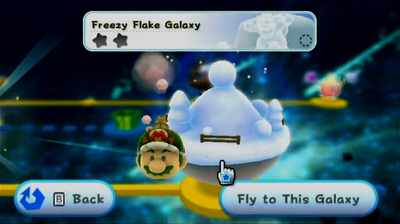 Freezy Flake Galaxy