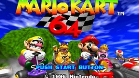 Mario Kart 64/videos