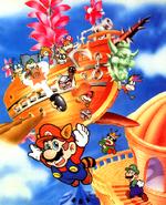 Super Mario Bros 3 art