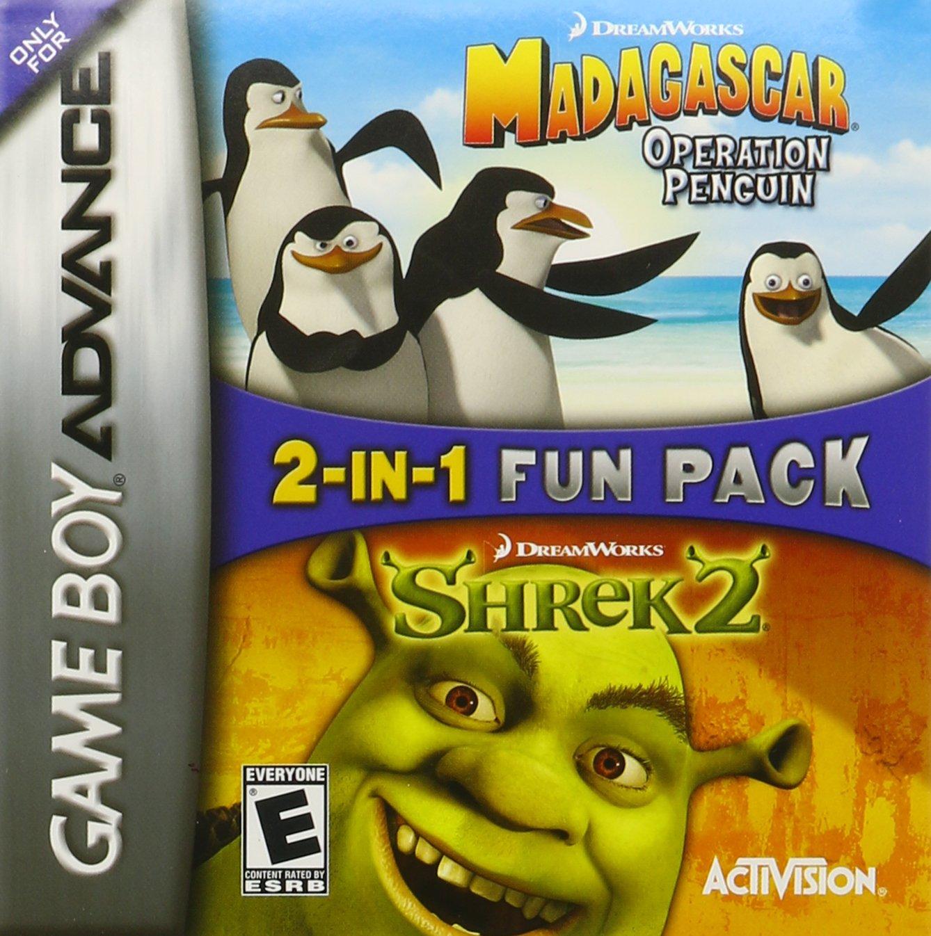 2-In-1 Fun Pack: Dreamworks Madagascar: Operation Penguin / Dreamworks Shrek 2